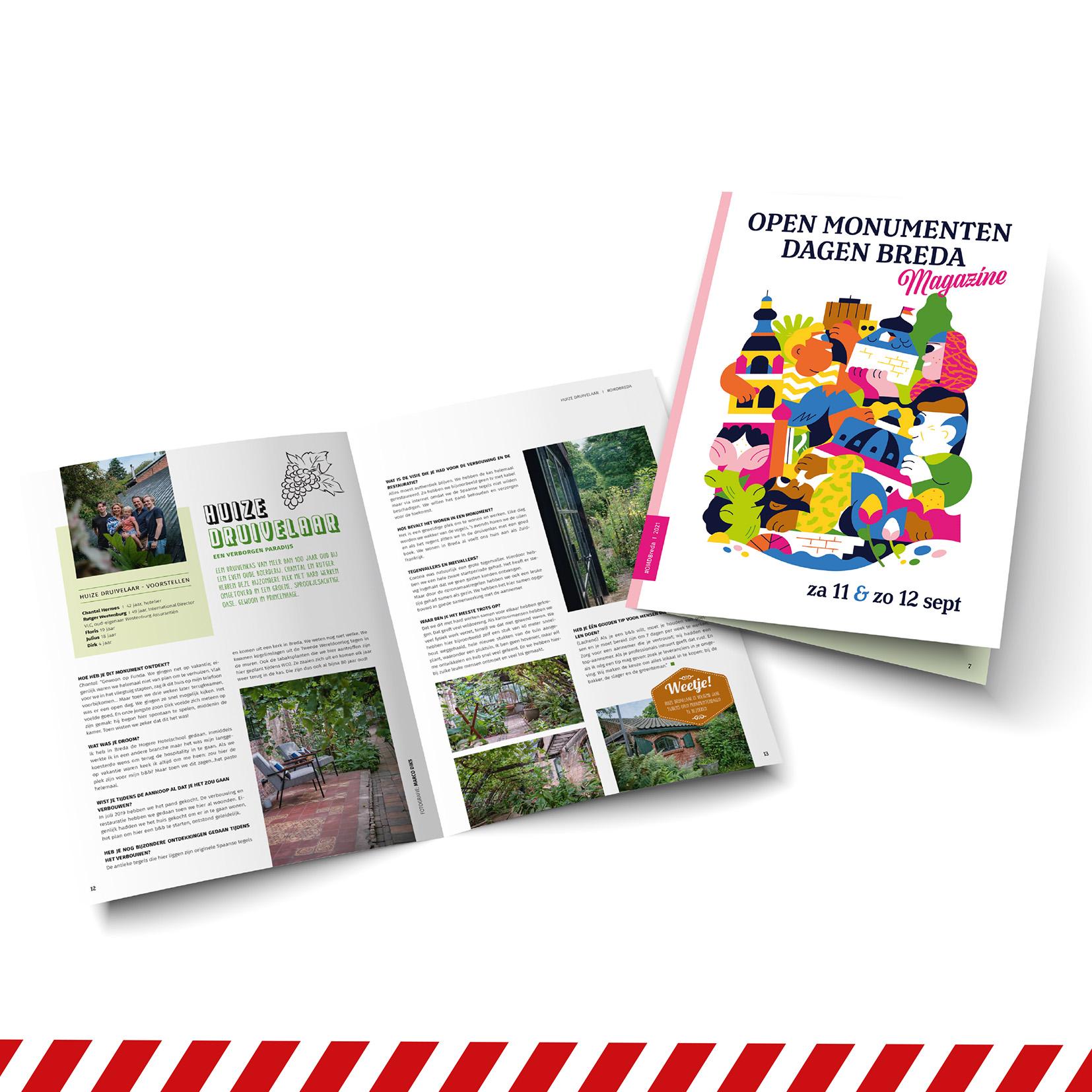 Magazine Open Monumentendag Breda